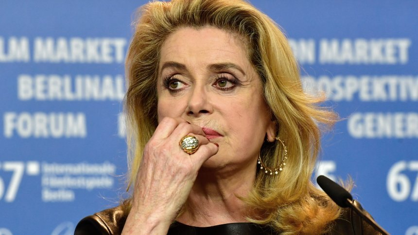 Catherine Deneuve (c) John Macdougall/AFP Photo