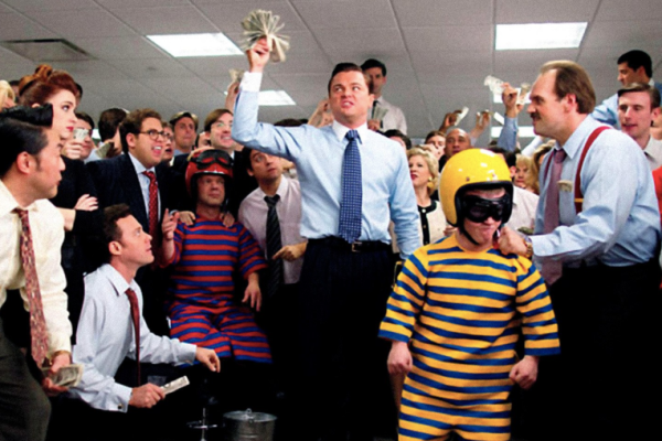 Still from Wolf of Wallstreet (c) Red Granite Pictures