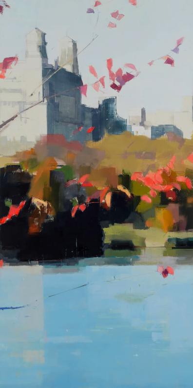 Lisa Breslow - Red Leaves (2016)