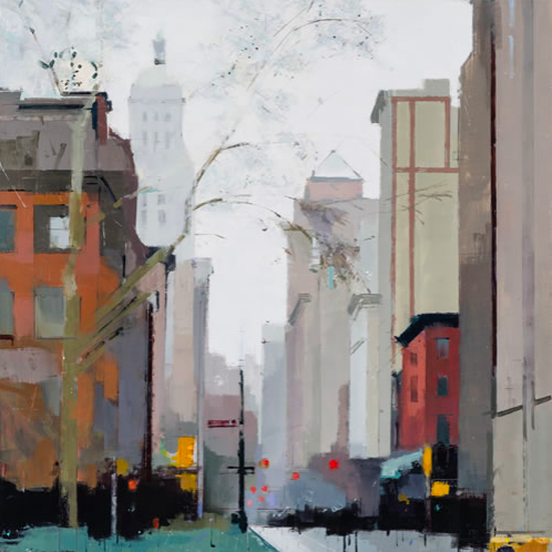 Lisa Breslow - Gramercy Park South (2016)