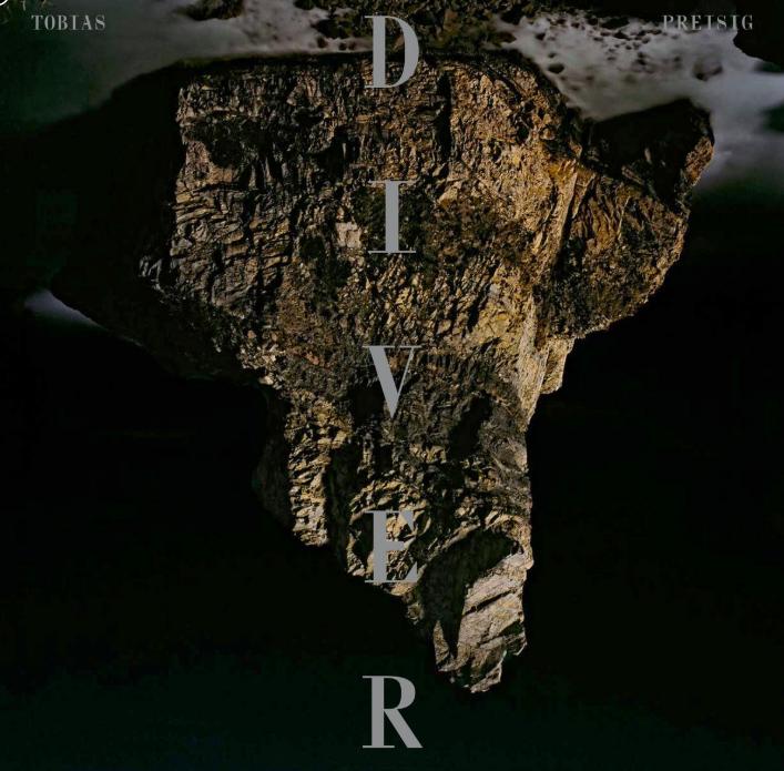 """(c) CD Cover Tobias Preisig """"Diver"""""""