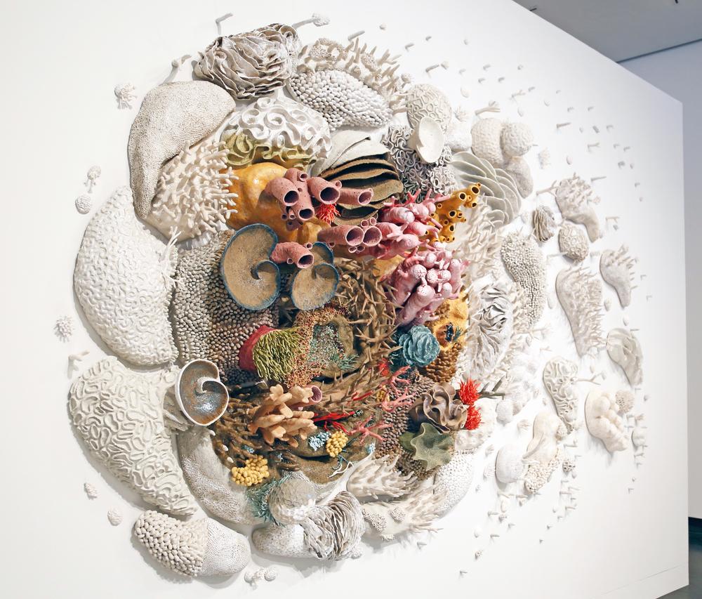 Courtney Mattison - Our Changing Seas III - Installation View