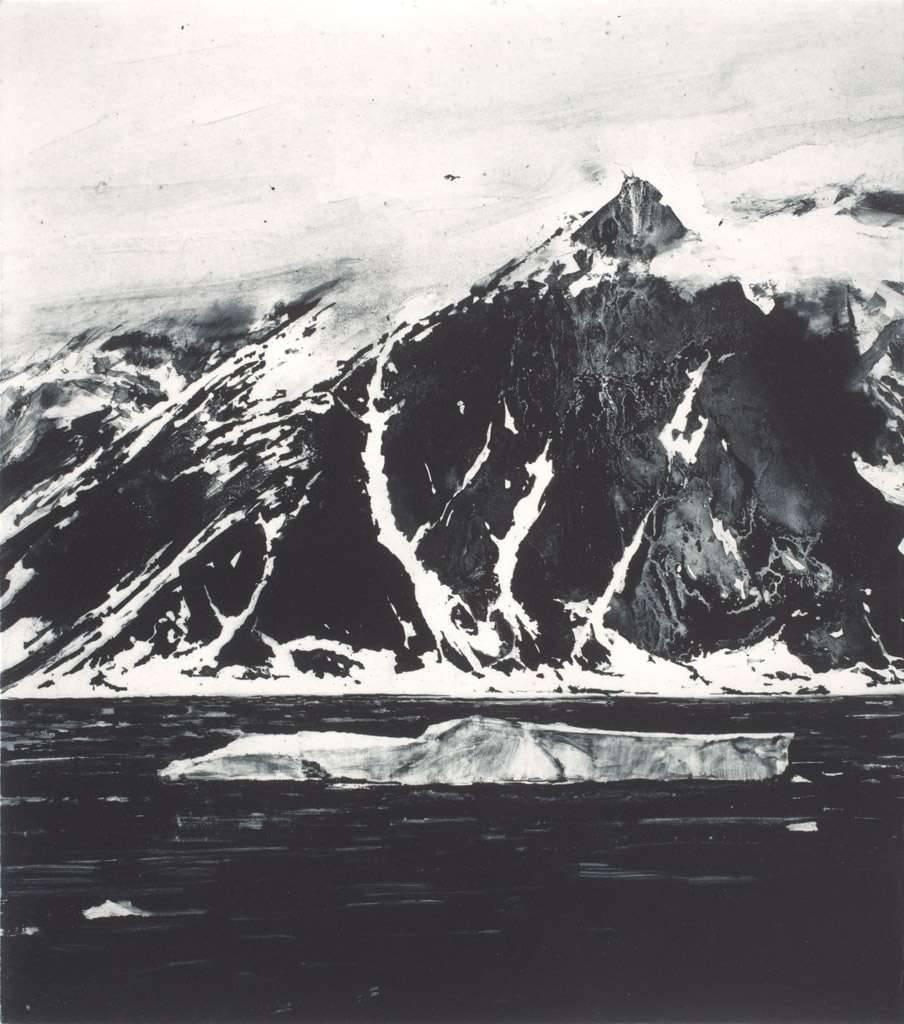 Emma Stibbon - Series Polar Region - Berg (Dark Sea)