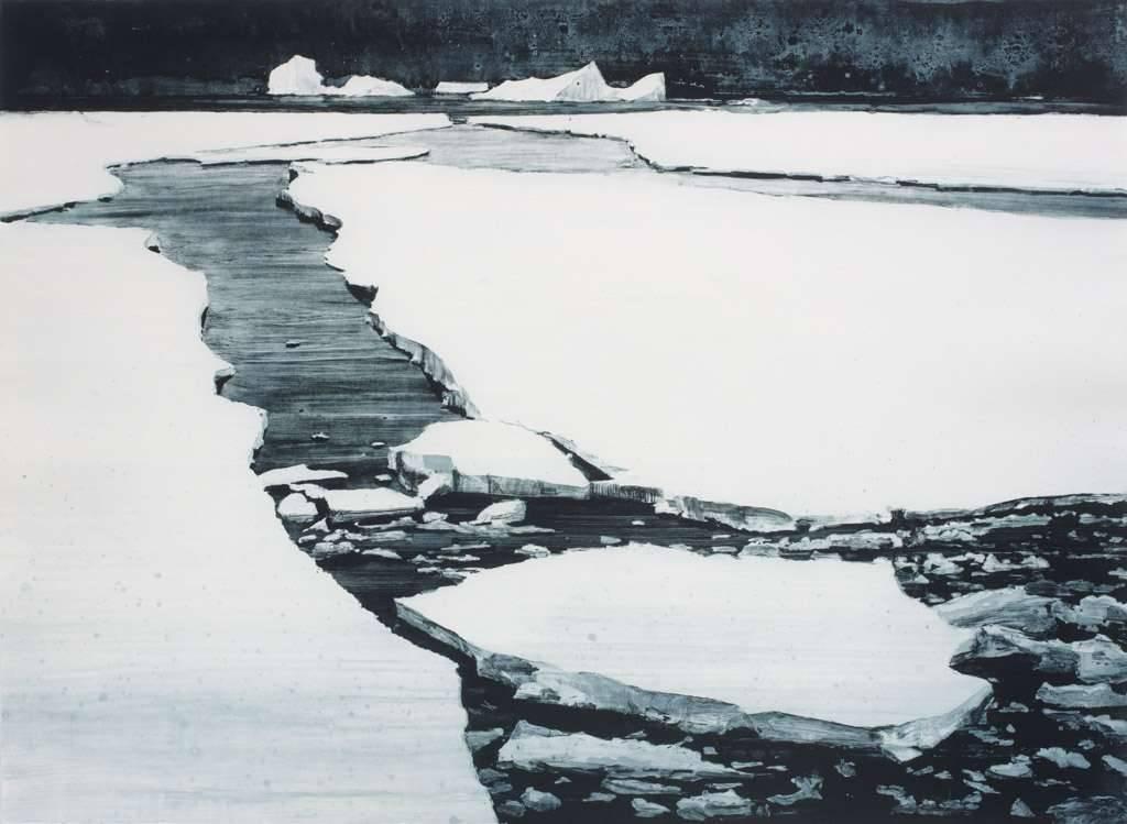 Emma Stibbon - Series Polar Region - Broken Lead